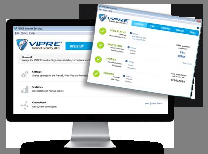 VIPRE Internet Security Screenshots